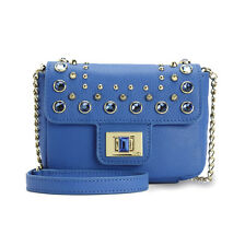 NWT Juicy Couture HOLIDAY LEATHER MINI G Shoulder Bag, Royal
