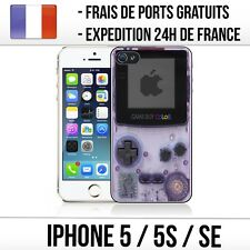Coque iPhone 5 / 5S / SE - Game Boy Color