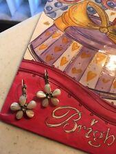 Brighton Mother Of Pearl Flower Earrings