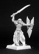 Daereth Elven Royal Guard Reaper Miniatures Warlord RPG Fighter Paladin Dark Elf