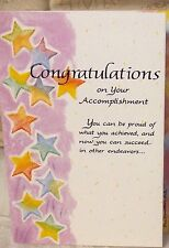 Blue Mountain Greeting Card Congratulation On Your Accomplishment
