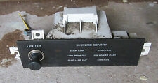 1987 - 1988 Ford Thunderbird Turbo Coupe Dash Lighter Systems Sentry Panel 87 88