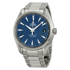 Omega  Aqua Terra Automatic Blue Dial Stainless Steel Watch 3110422103003