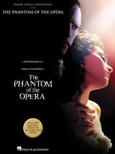 The Phantom of the Opera Movie Selections Sheet Music Piano Vocal Guit 000313294