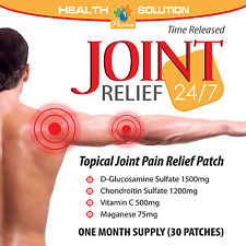 Maganese Vitamin C - JOINT RELIEF PATCHES 24/7 - Good for Cartilage 1P