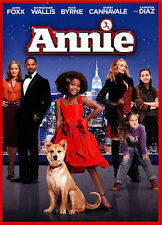 Annie (DVD, 2015, Includes Digital Copy; Ultraviolet) NEW