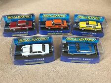 Scalextric Mk1 Escort Collection – All New and Mint Condition