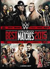 WWE Best Pay-Per-View Matches 2015 DVD 3 Disc Set Brand New Factory Sealed