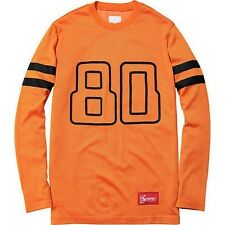 SUPREME Digi Football Top Orange M Box Logo 2012 safari camp kate moss F/W 13