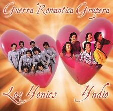 Guerra Romantica Grupera Los Yonic's Grupo Yndio CD Brand New Factory Sealed !