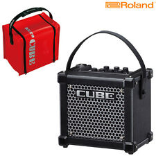 Roland Micro Cube GX Battery Powered Guitar Amplifier with Protective Cover Bag