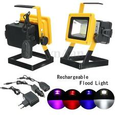 Portable USB 30W 24 LED Rechargeable Flood Light Spot Work Camping Fishing Lamp