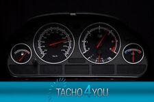 BMW Tachoscheiben Tacho E39 Benzin oder Diesel M5 Carbon 3072 Tachoscheibe X5