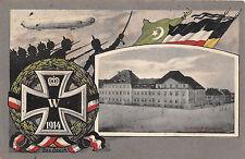 Glauchau Sachsen Infanterie Kaserne EK 1., Zeppelin, Türkische Flagge 1915