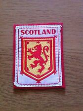 Scottish Lion Rampant of Scotland Patch Badge shield - very nice gift present