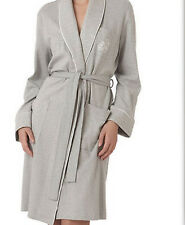 Ralph Lauren Hartford Lounge Short Shawl Collar Robe Grey Womens 3X