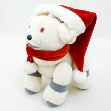 "AIBO Ivory 7"" Chirstmas Santa Ver. Plush Doll Figure Official Goods JAPAN SONY"