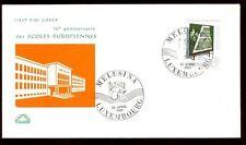 Luxembourg 1963 European School, 10th Anniv FDC, Cover #C6111