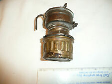 Shanklin Mfg Miners Carbide Head Lamp lantern Guy s Dropper---HAS NO REFLECTOR