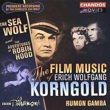 The Sea Wolf, Adventures of Robin Hood CD by Korngold Soundtrack