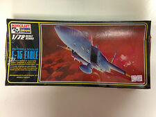 HASEGAWA MINICRAFT 93 1/72 SCALE MCDONNELL DOUGLAS F-15 EAGLE MODEL AIRPLANE KIT