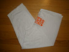 NEW HOOTERS RARE SEXY WHITE COMPETITION/YOGA PANTS STRETCHY SAN DIEGO, CA SMALL