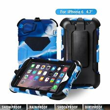 NEW Apple iPhone 6 Case, Aceguarder Extreme Duty Protection Case (Navy/Black)