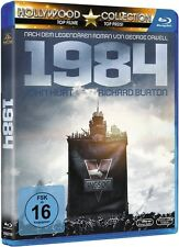 Blu-ray GEORGE ORWELL: 1984 # John Hurt, Richard Burton ++NEU