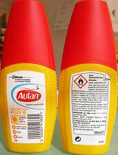 Autan Protection Plus contro zanzare comuni tigre tropicali tafani e zecche 100
