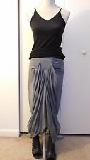 RICK OWENS LILIES Long Blueish Grey Dark Shadow Skirt IT 38 US 4 or XS S