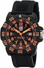 Luminox 3059 Navy SEAL Colormark Orange Accents Carbon mens watch max used pre60