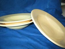 Target Home Solid Ivory or Beige RIMMED BOWL (s) *have more items to set*