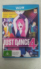Just Dance 4 Wii U Brand New (Not Sealed)