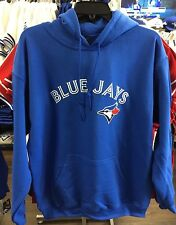 Toronto Blue Jays MLB Baseball Hoodie Sweatshirt Texas Leaguer Wordmark XX-Large