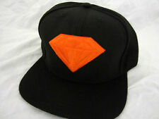 Diamond Supply Co Orange emblem snapback cap hat urban skate