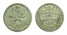 pcc1583_2) Stato Pontificio Pio VI (1775-1799) - 25 Baiocchi 1795  AN XXI