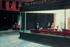 NIGHTHAWKS - EDWARD HOPPER ART POSTER - 24x36 - 1026