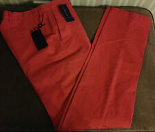 Polo By Ralph Lauren Preppy Fit Brick Red Chino Trousers W 31 leg 34 *