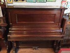 Newman Bro's. Co. Overstrung Grand Piano Antique - #14359