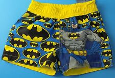 NEW DC COMICS BATMAN INFANT BABY BOYS SWIM TRUNKS SHORTS SIZE 0 3 MONTHS 0-3M
