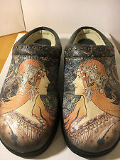 Icon Size 5B Art Women's Clogs Mules Shoes NEW