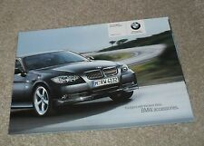 BMW 3 Series E90 Accessories Brochure 2005