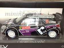 NOREV 181559 CITROEN DS3 #17 WRC RALLY PORTUGAL 2012 1/18 DIECAST PURPLE