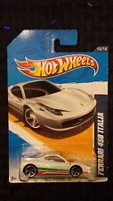 Hot Wheels Ferrari 458 Italia 2011