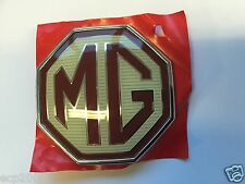 MG BADGE MGZR ZS ZT ZTT FRONT GRILLE BADGE DAH000040WXA GENUINE NEW 58MM