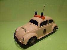 PEPE VW VOLKSWAGEN BEETLE - BRIGADA DE TRANSITO - OVAL CREAM  L21.5cm - GC