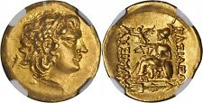 Stater or Mithridate VI Eupator 120-63 BC Istros Gold coins