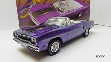 GMP 1:18 1970 PLYMOUTH ROAD RUNNER CONVERTIBLE 440-6 IN VIOLET LE 1 OF 1302