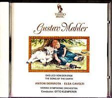 Mahler-Das Lied Von Der Erde-The Song Of Earth CD-Otto Klemperer/Anton Dermota