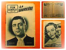 FILM COMPLET N° 207 - 25/5/1950 -La souricière -Bernard Blier-François Perier